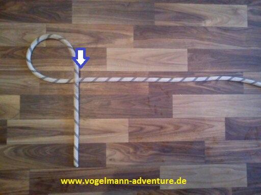 Sicherung Knoten HALB-MASTWURF-SICHERUNG - 1
