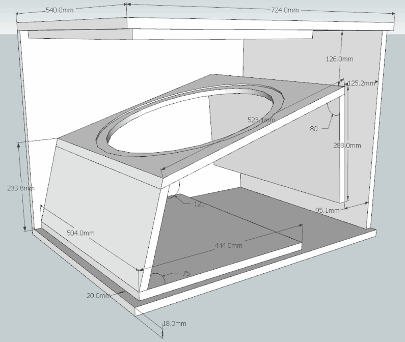 18 Inch Subwoofer Enclosure Plans http://electronicsheet.blogspot.com/2013/06/box-speaker-subwoofer-18-inch-lapangan.html