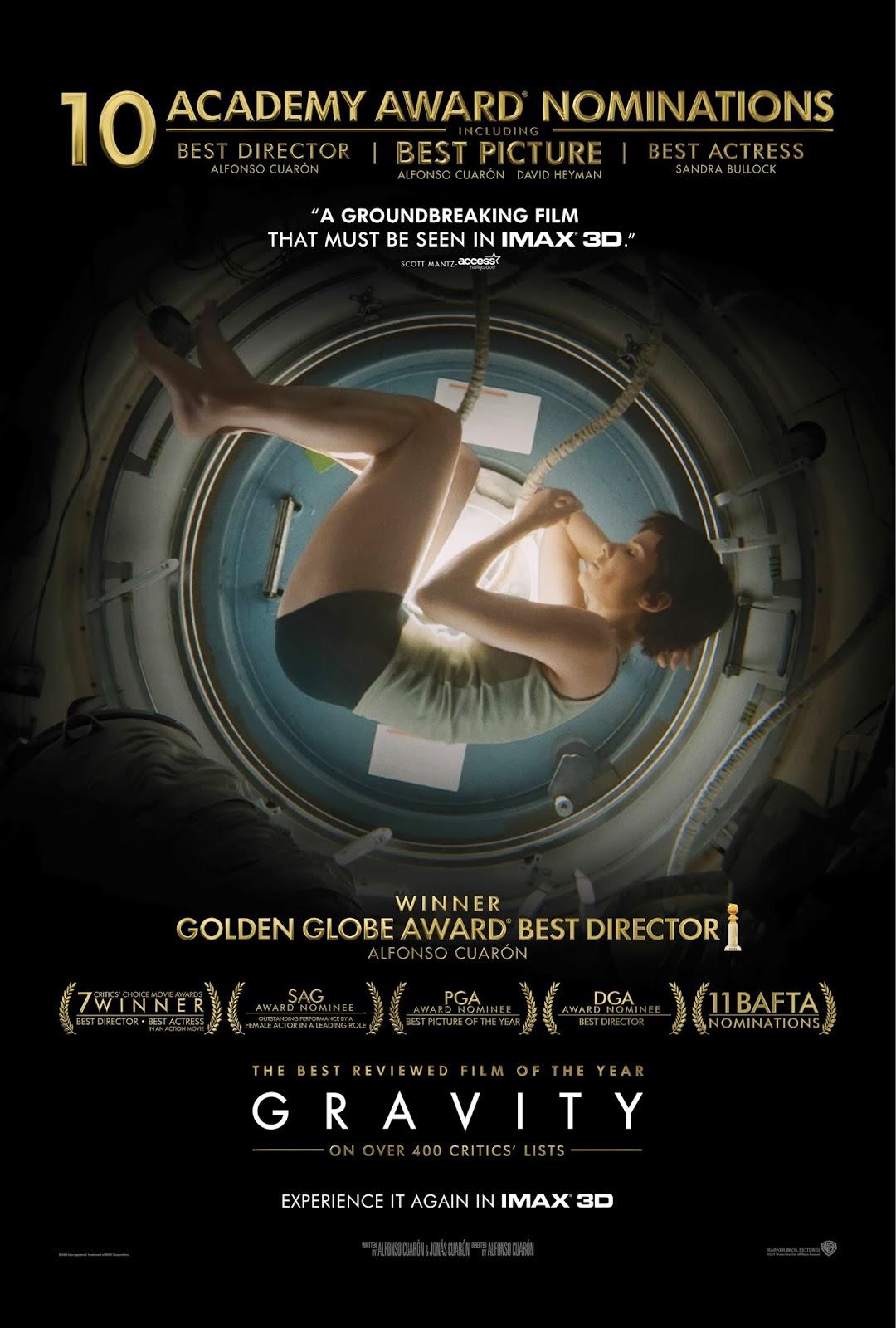 Comentario de la película Gravity