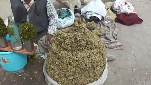 Bhang sold on the streets