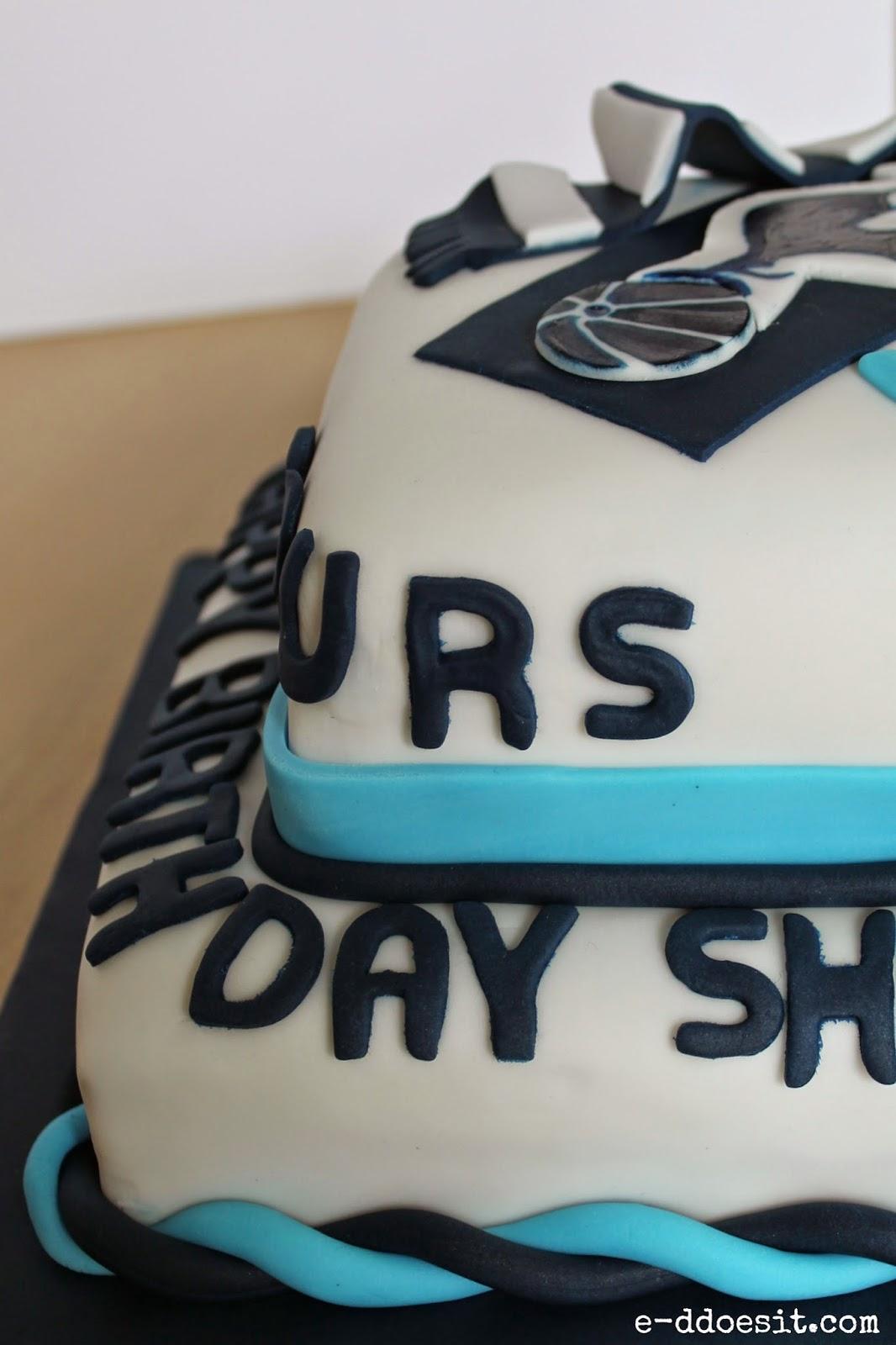 E D Does It Tottenham Hotspur Birthday Cake