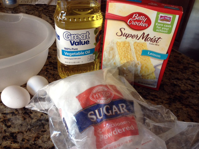 G Rated 4 Ingredient Cake Mix Cookies