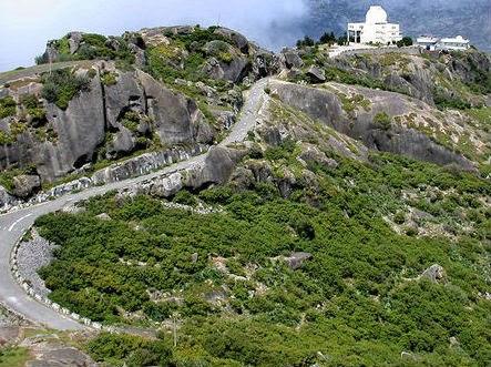 Guru Shikhar Peak in India