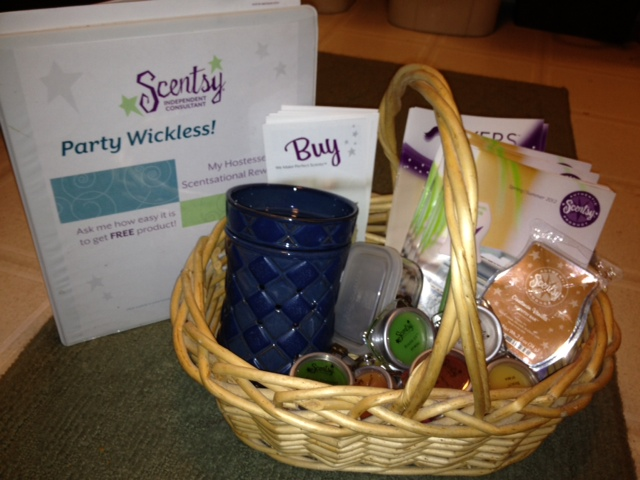 Scentsy Home Party Ideas http://thegoodthebadthefamily.blogspot.com/