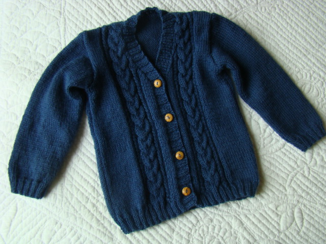 gilet 2 ans tricot