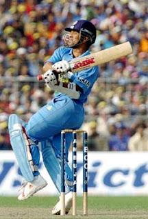 Sachin Tendulkar Playing cricket snapshot