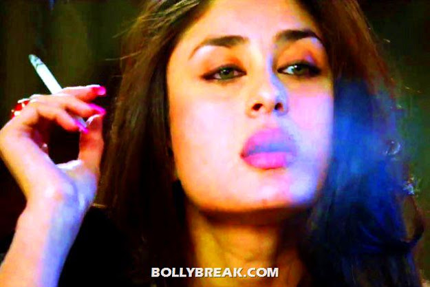 Kareena kapoor smoking - Kareena Kapoor smoking HeROINE MOVIE