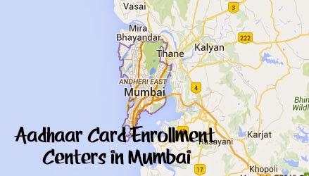 Aadhaar Card Enrollment Centers in Mumbai
