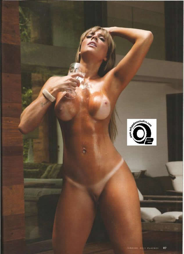 capa de revista play boy panicat