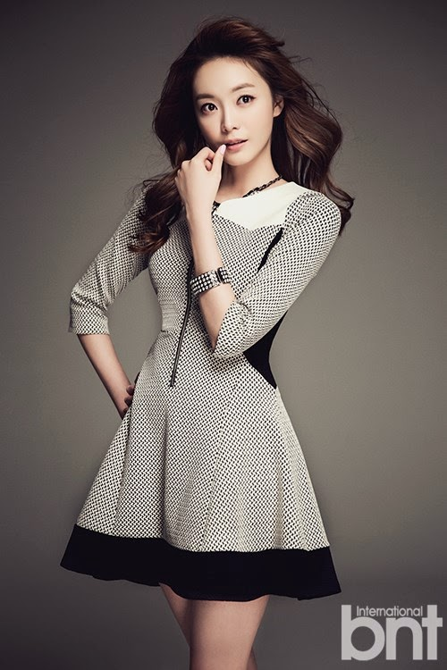 Jeon So Min - bnt International March 2014