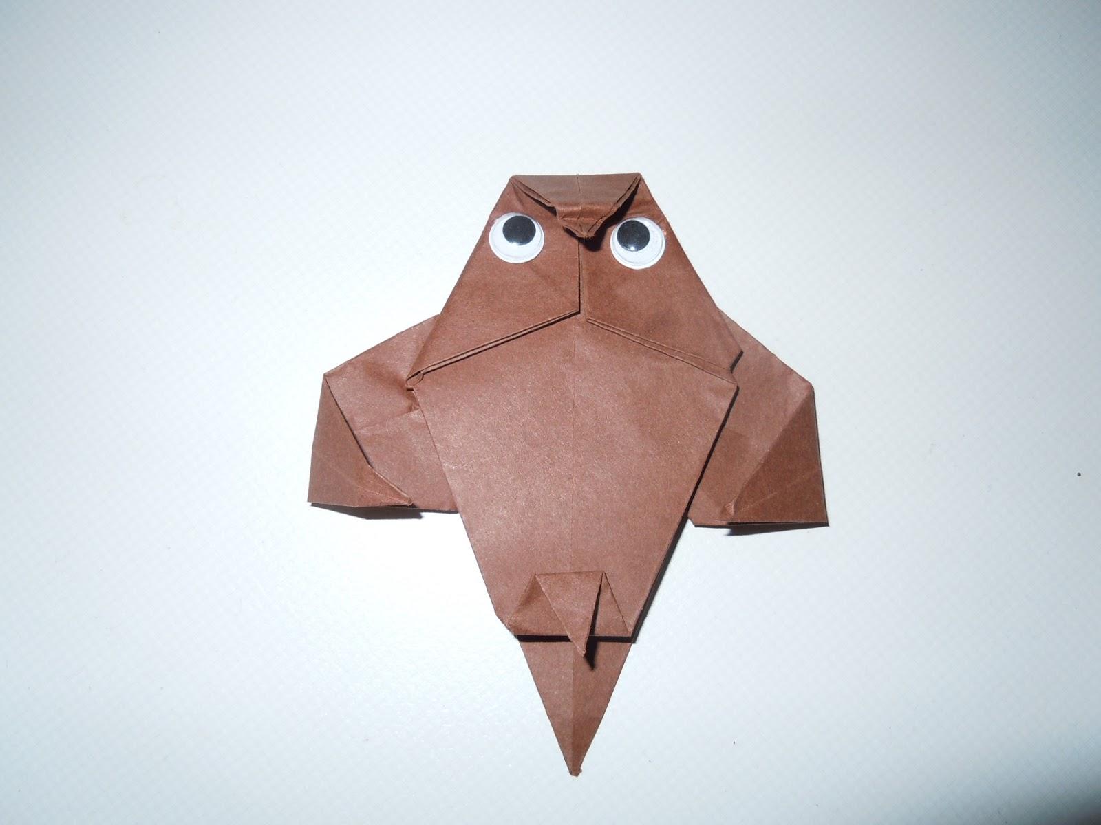 Origami Eule Anleitung  Americas Best Lifechangers