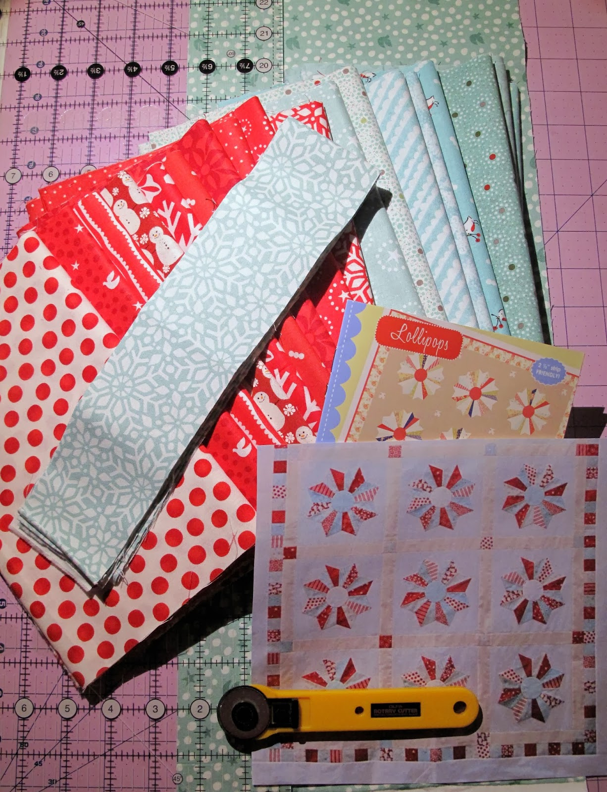 Quilting in Carmichael: Fig Tree and Company - Lollipops and Little Lollies