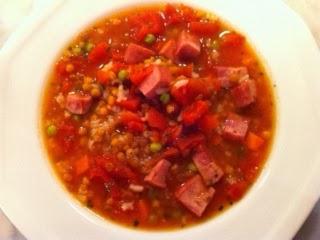 Brigitte 39 S Kitchen And Home Super Easy Lentil Soup For