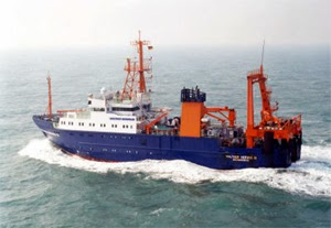 image showing the Walther Herwig research vessel
