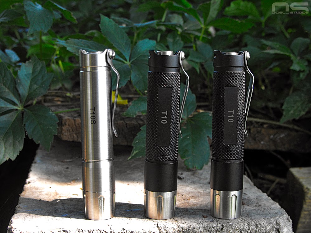 stainless steel flashlights, budget edc, every day carry lights