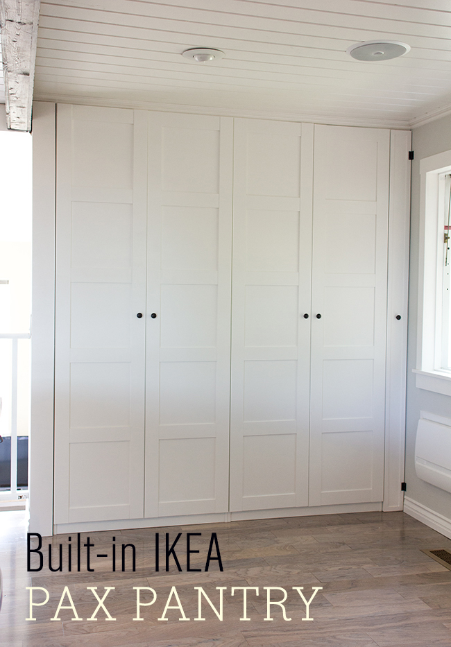 Ikea Poang Chair White Leather ~ Kitchen Chronicles Ikea Pax Pantry Reveal!