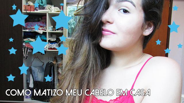 MATIZAR CABELO EM CASA