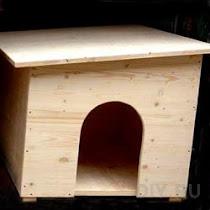 Как построить конуру для собаки
