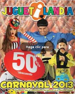 disfraces juguetilandia carnaval 2013