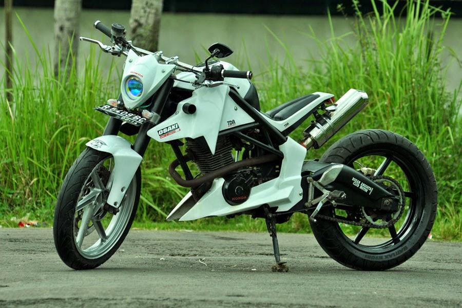Honda GL 100 Modif Minor Fighter