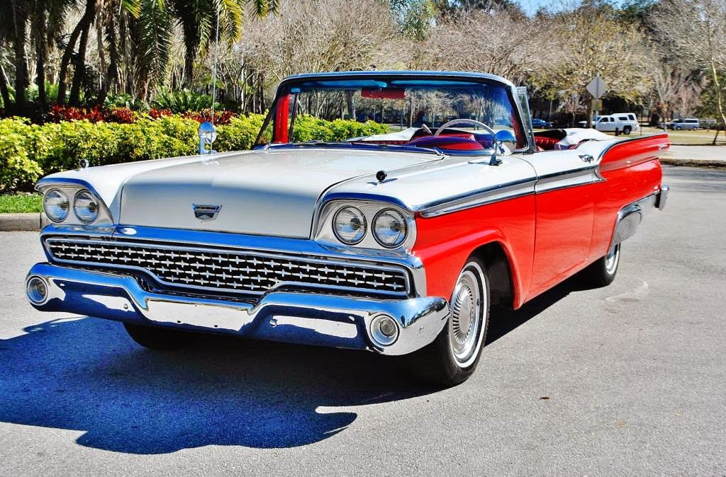 All american classic cars 1959 ford galaxie sunliner 2 for Classic american images