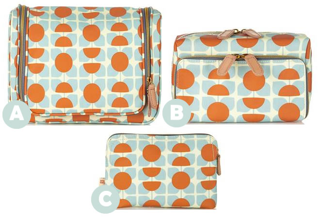 Orla Kielys New Spring Summer Travel Wash Bag Collection