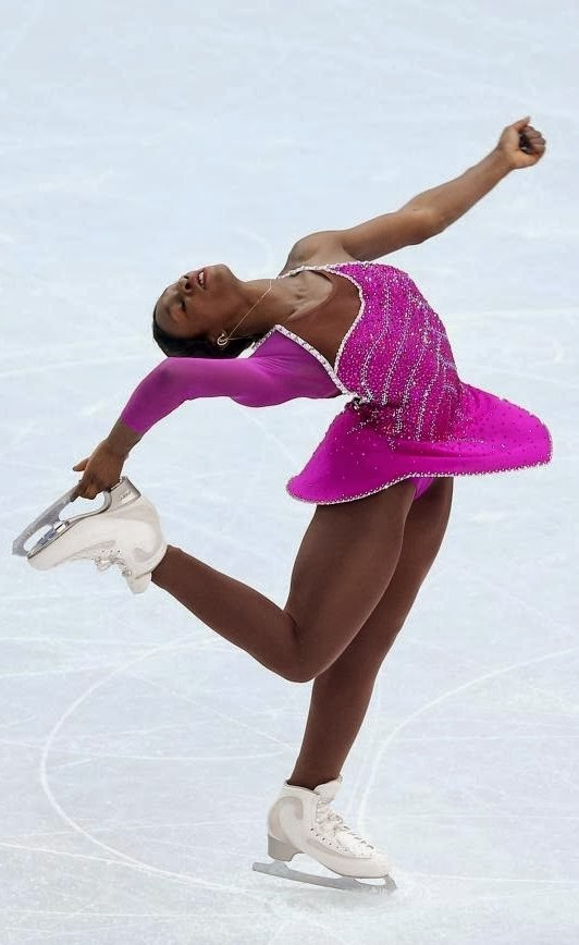 Mae Meite, french figure skater,figure skating
