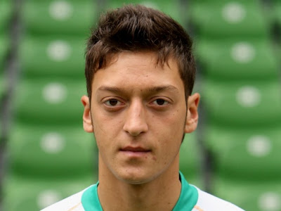 Mesut Ozil Hairstyles 2011