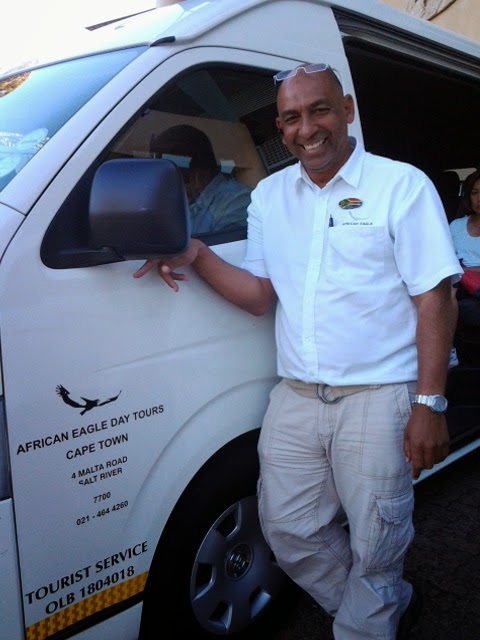 Unser Tourguide von African Eagle Day Tours