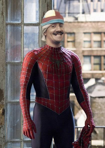 tiririca homem aranha Fotos engraçadas para postar no facebook photoshop