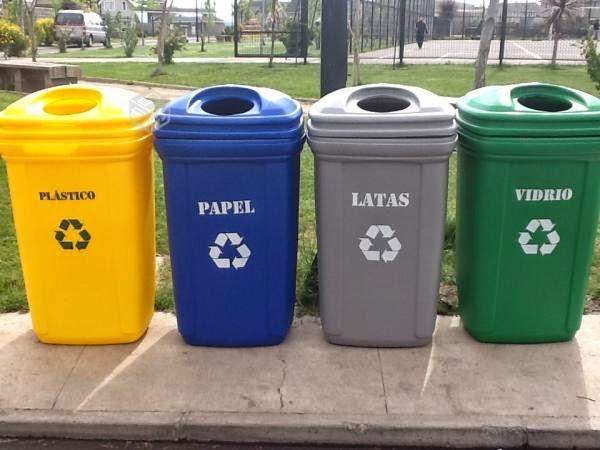 Ecosasmarket donde llevar los desechos de reciclaje - Contenedores de reciclar ...