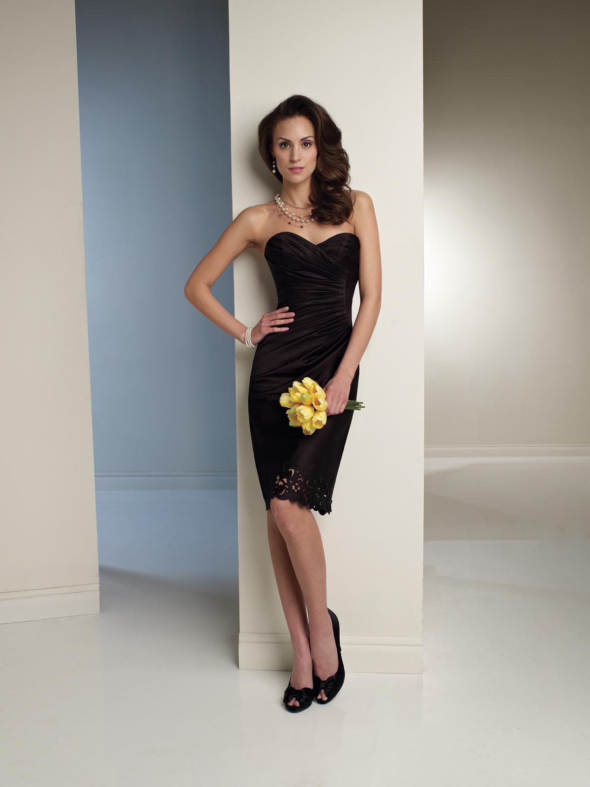Vestidos elegantes de noche 2012