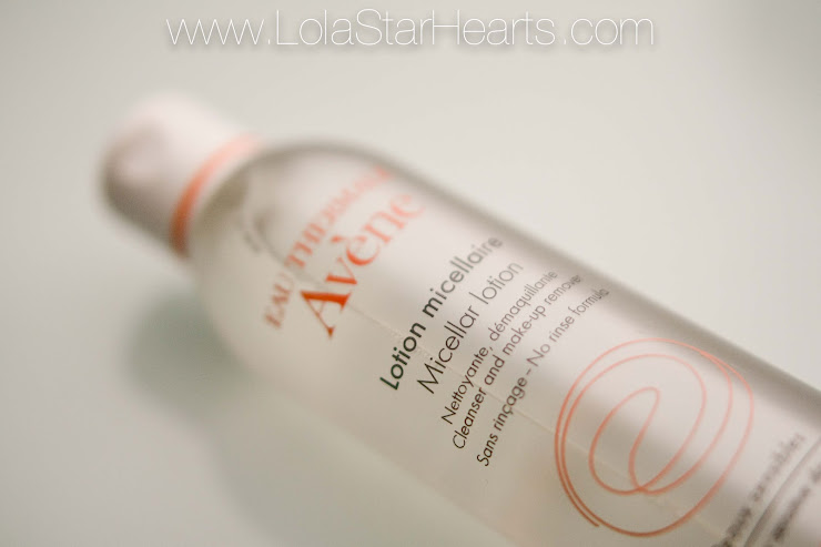 avene Avène micellar cleansing lotion water review swatch photo picture lolastar hearts UK beauty blog
