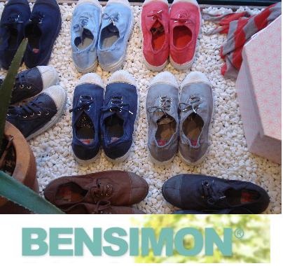 LAS BÁSICAS DE BENSIMON MODELO TENNIS LACET