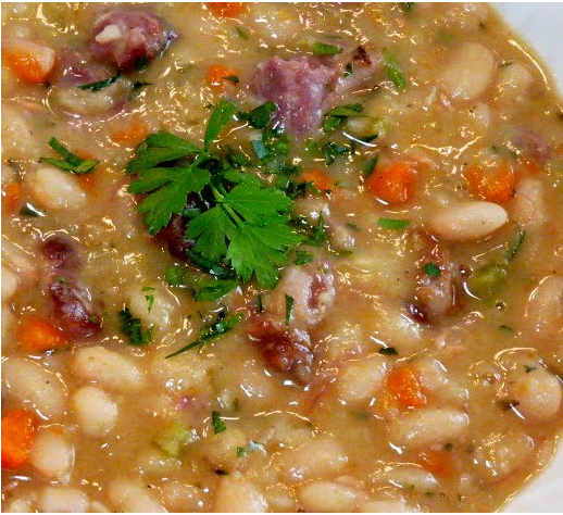 recipe : White Bean and Ham Soup | 200 Recipes