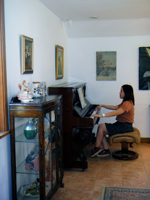 Piano inside Beethoven Virus in Petite France Gapyeong
