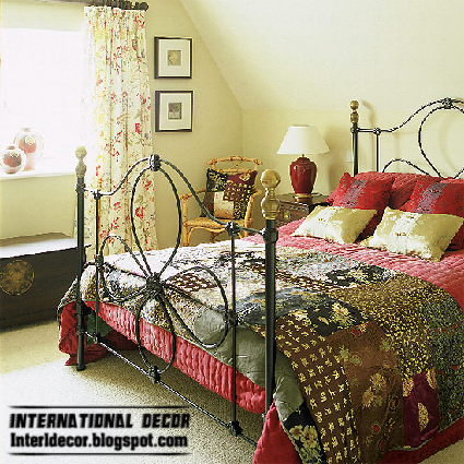 Top 10 bedroom in country styles interior design ideas for Bed styling ideas
