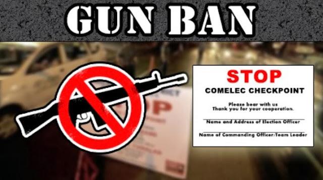 Gun Ban Application Forms for Barangay and SK Elections 2013