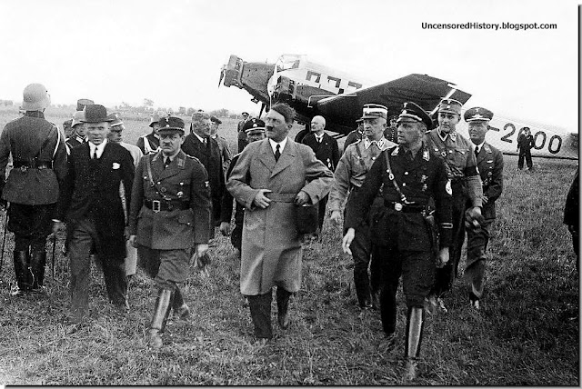 Erich Koch with Hitler August 1939