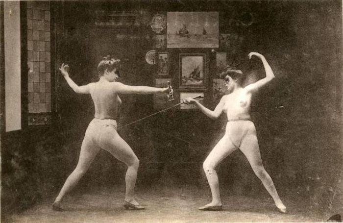 Нювот и ретро-эротика. Фотообзор 19-первая половина 20 века.