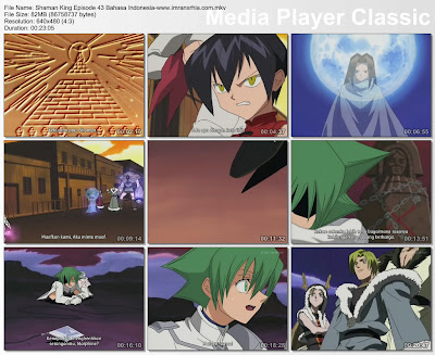 Download Film Shaman King Episode 43 (Pertempuran Tingkat Dewa) Bahasa Indonesia