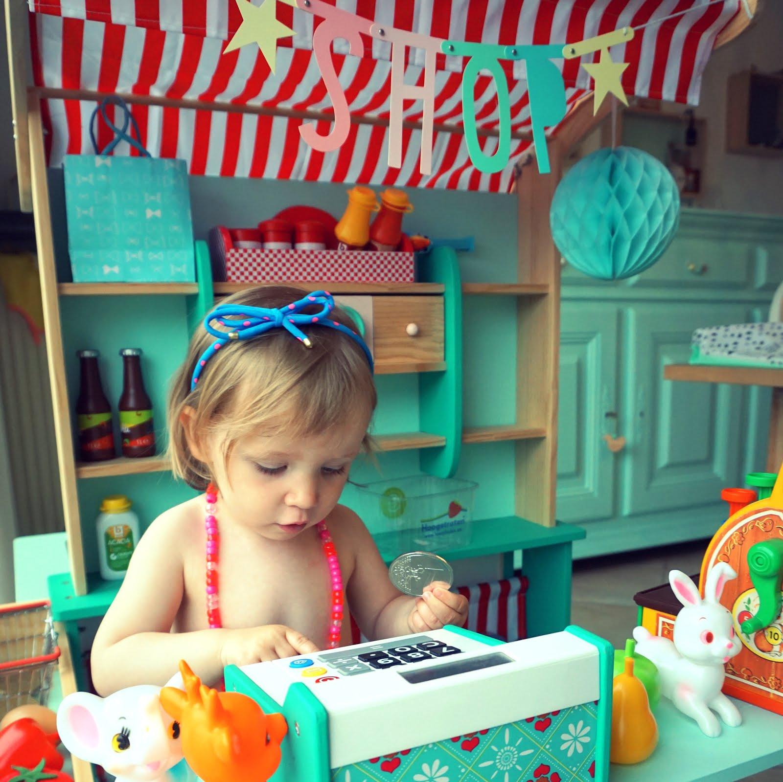Make-over van een speelwinkeltje