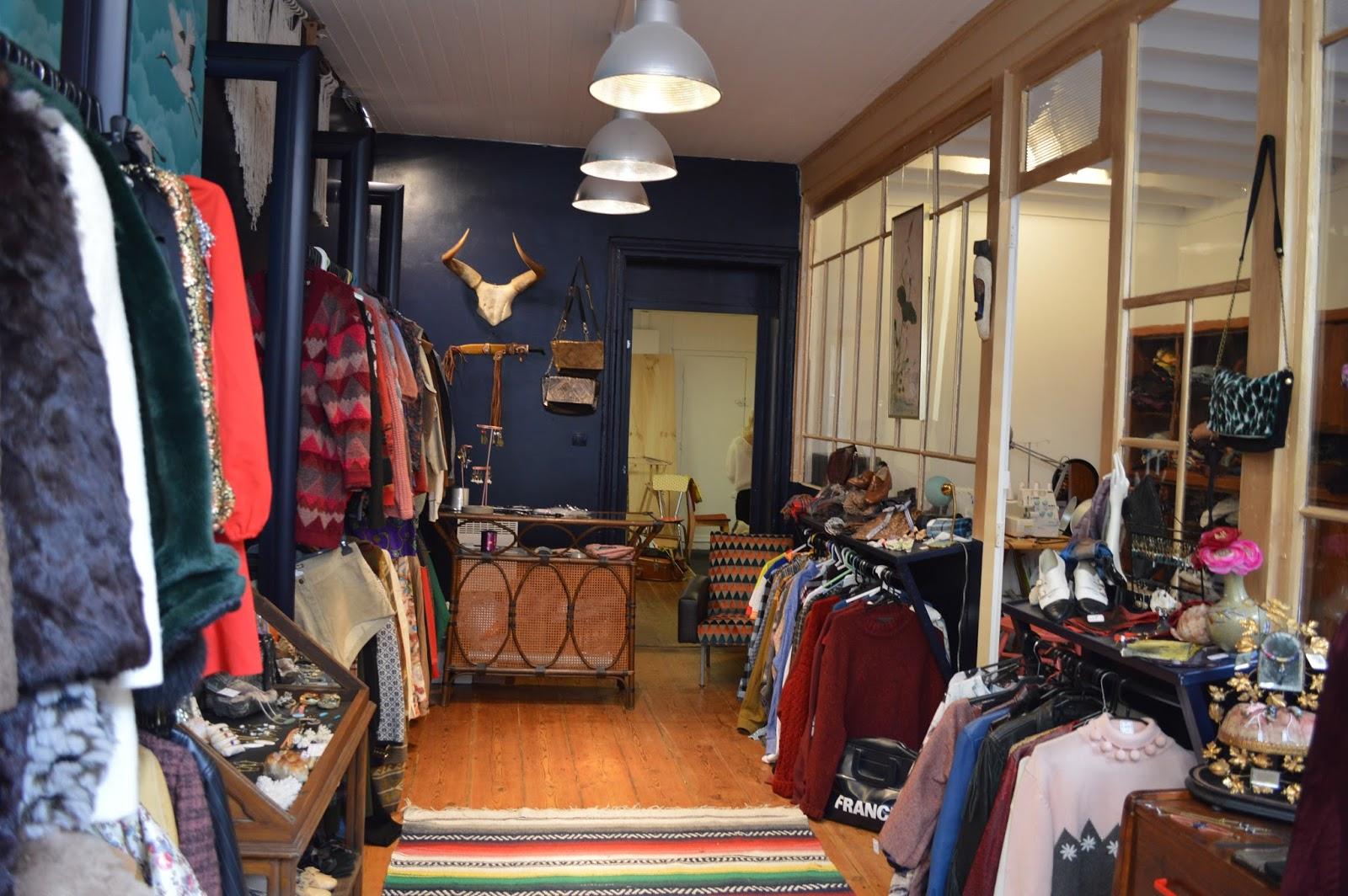 blue madone : boutique vintage & atelier créateurs - camille in bordeaux