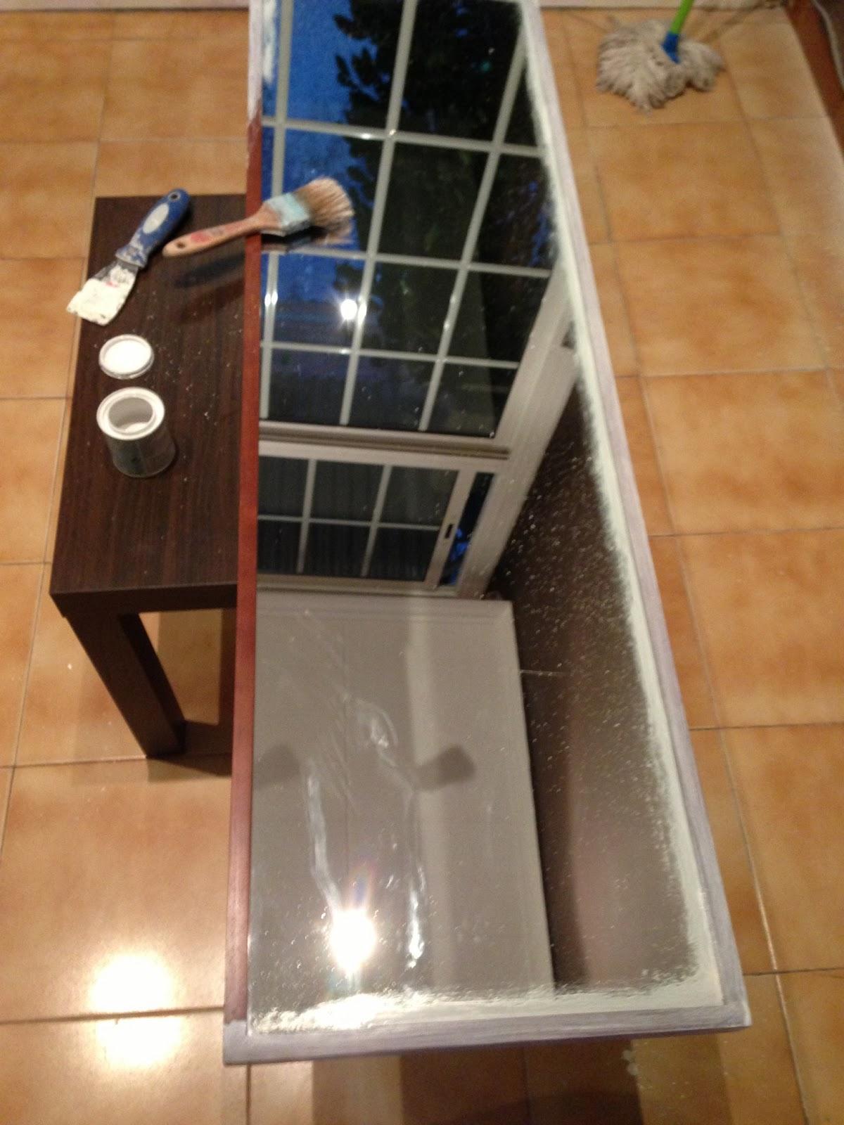 Decorando y Renovando: DIY: Modificando un espejo