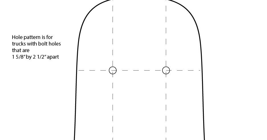 Maker dad longboard template for Longboard template maker