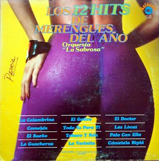 Orquesta la Sabrosa - Los 12 Hits De Merengues Del Año
