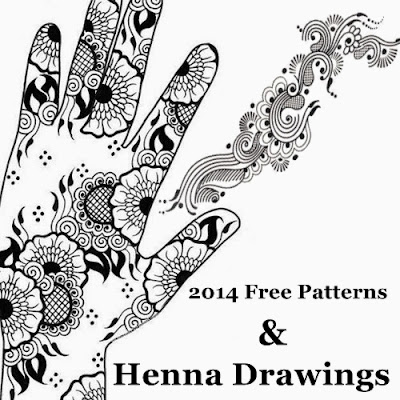 Henna Design Patterns Drawings