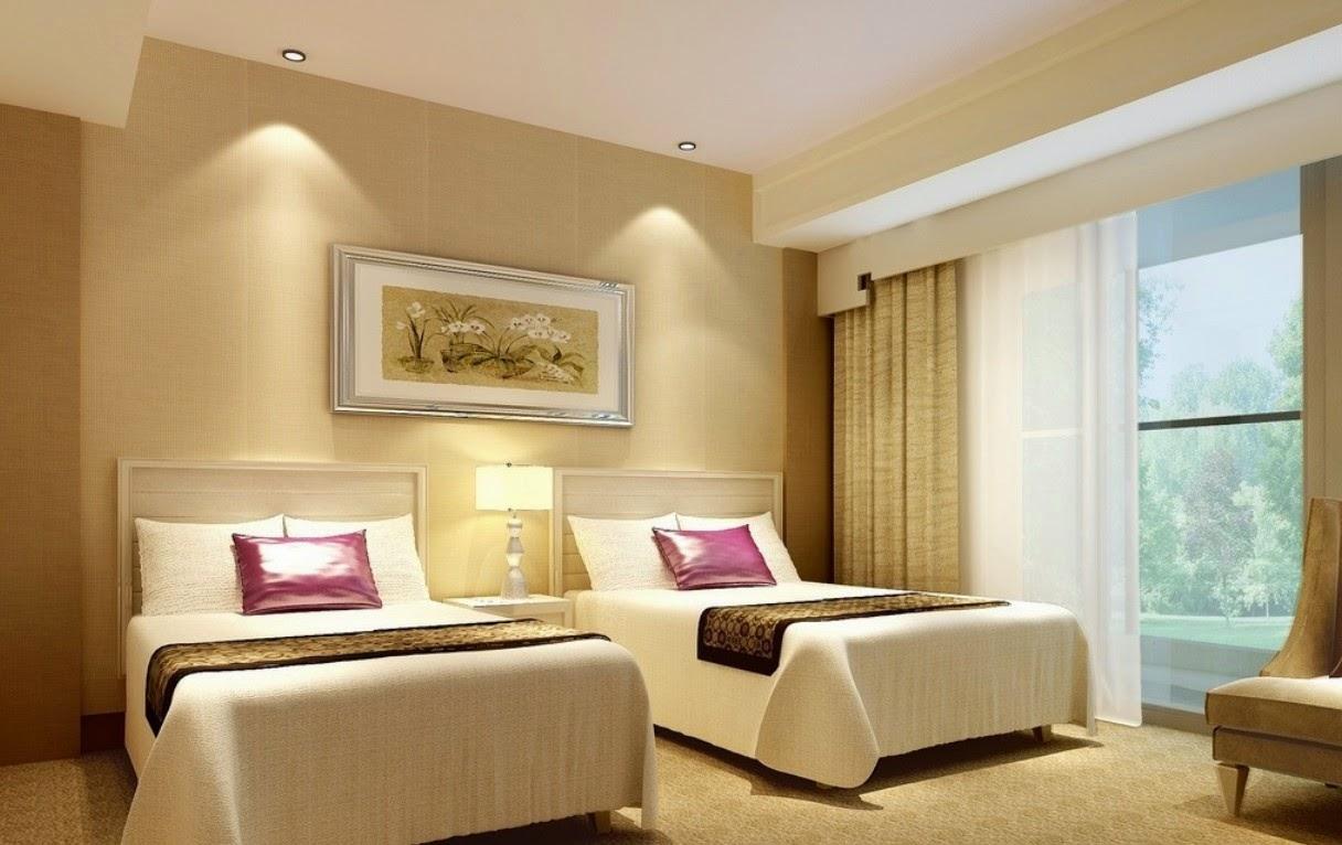 Desain Tempat Tidur Hotel Sobat Interior Rumah