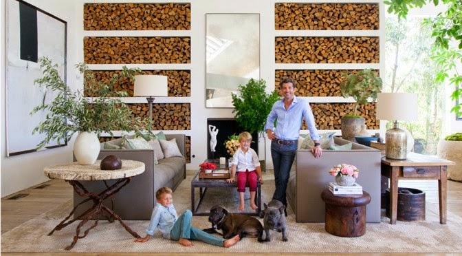 Heteruf designs patrick dempsey muestra su casa en for Decoracion rustica contemporanea