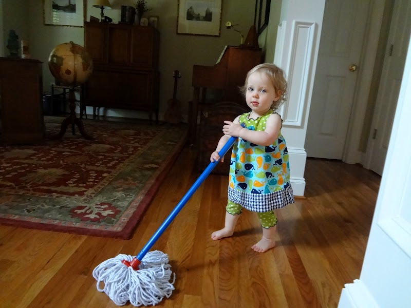 Image result for child mopping floor